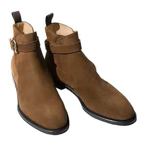 Tobacco Leather Taylor Riding Boots