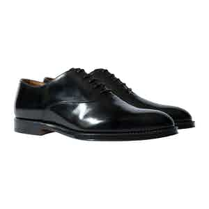 Charcoal Leather Dixon Oxfords