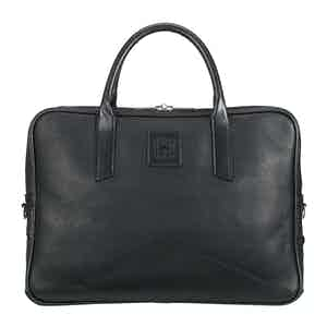 Black Leather Langford Briefcase
