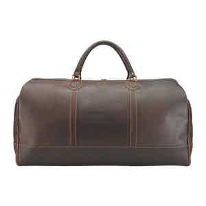 Sundance Floodlight Leather Large Weekender Holdall