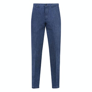 Denim Cotton Casual Trousers