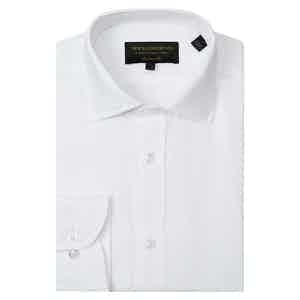 White Linen Tailored Shirt