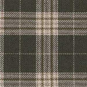 Brown Linen-Silk-Cotton Batavia Weave Worsted Fabric