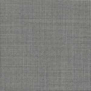 Grey Houndstooth Check Light Panama Wool Fabric