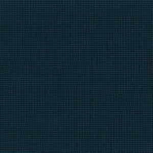 Dark Blue Houndstooth Check Light Panama Wool Fabric
