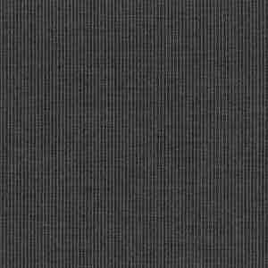 Grey Pinstripe Light Panama Virgin Wool Fabric