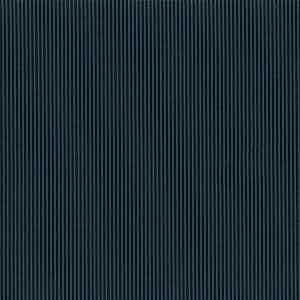 Navy Blue Pinstripe Light Panama Virgin Wool Fabric