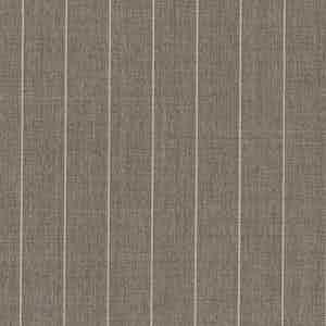 Pale Brown Pinstripe Light Panama Virgin Wool Fabric