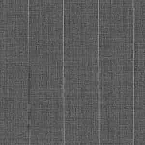 Light Grey Broad Pinstripe Light Panama Virgin Wool Fabric