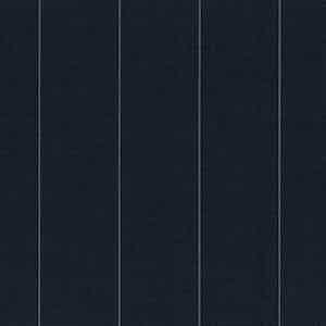 Blue-Grey Broad Pinstripe Light Panama Virgin Wool Fabric