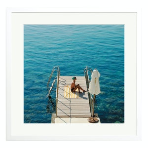 Woman at Hotel II Pellicano by Stephen Ringer Colour Print