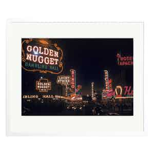 Las Vegas Neon Lights by Loomis Dean Colour Print