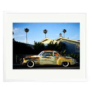 Vintage Car in Los Angeles by Stephen Albanese Colour Print