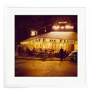 Café de Flore, Paris in the 1950s,Colour Print