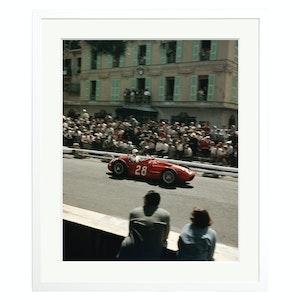 Ferrari in Grand Prix de Monaco Colour Print