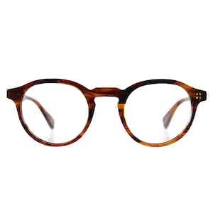 Caramel Alex Natural Cellulose Optical Glasses Frames
