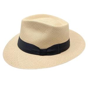 Brick Toquilla Palm Straw Cuban Panama Hat