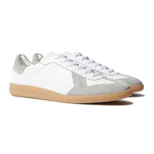 White Low Top Ryan Sneakers