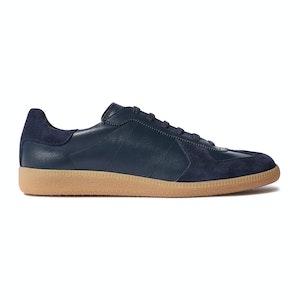Blue Low Top Ryan Sneakers