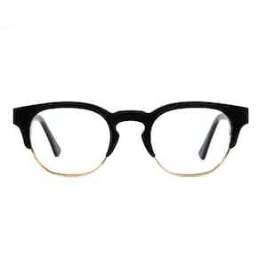 Piano Black Ronnie Optical Frames