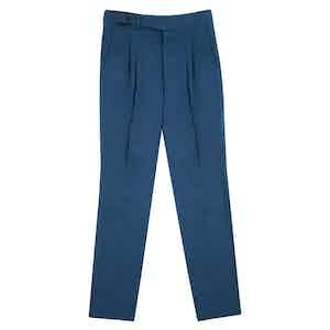 Celtic Blue Linen Gurkha Trouser