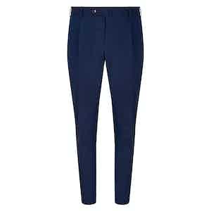Royal Blue Cotton Trousers