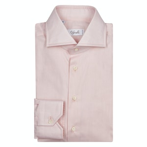 Pink Classic Cotton Shirt