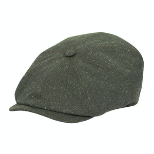 Mottled Green Vitale Barberis Canonico Bakerboy Hat