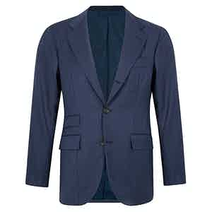 Navy Single Breasted Suit