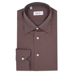 Brown Tonic Savannah Cotton Shirt