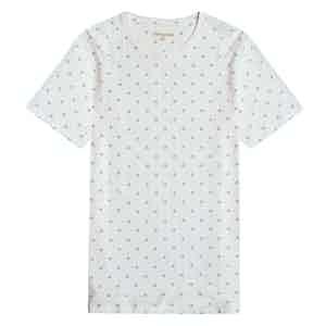White Cognito Cotton T-Shirt