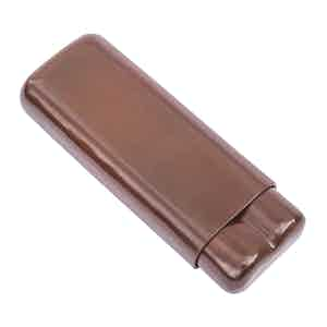 Brown Gigantes Double Cigar Case