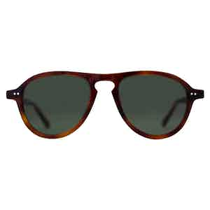 Brown Mottle Acetate Californian Sunglasses
