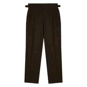 Mocha Brown Clifford Trousers