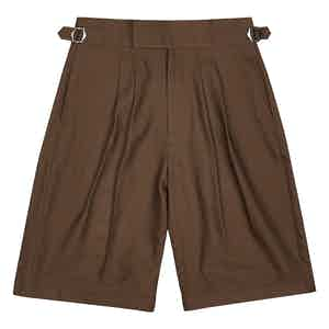 Chocolate Brown Clifford Shorts