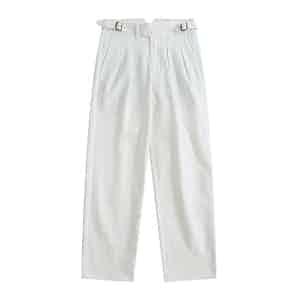 Off-White Japanese Selvedge Denim Gurkha Pants