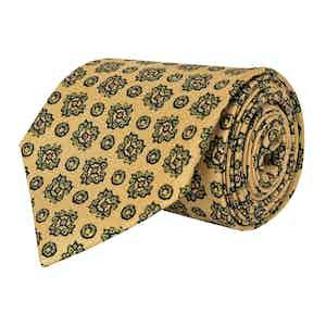 Burnished Gold Silk Twill Tie