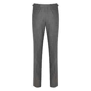 Grey Connery Woollen Trousers