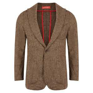 Brown Tweed Barchetta Jacket