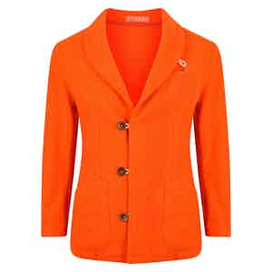 Orange Casentino Duffle Jacket