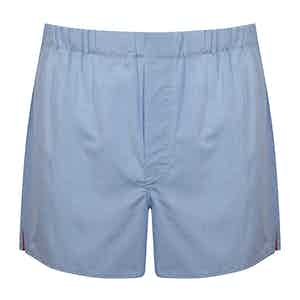 Blue and Red 200 Cotton Boxer Shorts