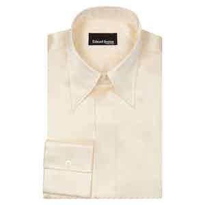 Ivory Point Collar Shirt
