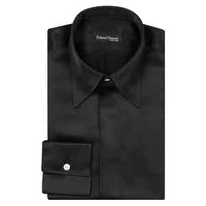 Black Point Collar Shirt