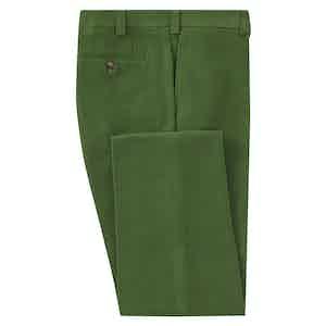 Green Moleskin Trousers