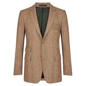 Multi-Coloured Classic Tweed Single Breasted Jacket
