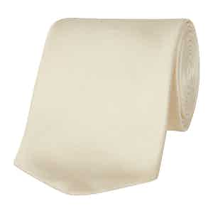 Honeydew Ivory Silk Tie