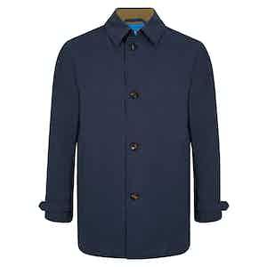 Navy Reversible Raincoat