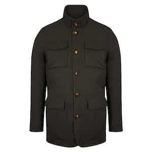 Chestnut Brown Field Jacket