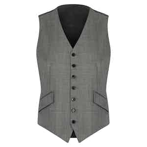 Light Grey VBC Wedding Suit Waistcoat