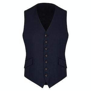 Navy VBC Wedding Suit Waistcoat